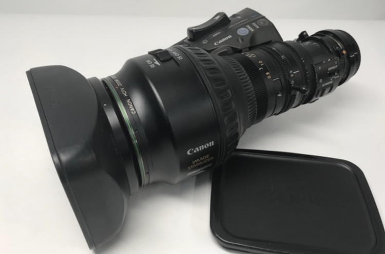 Canon HJ15x8.5 lens