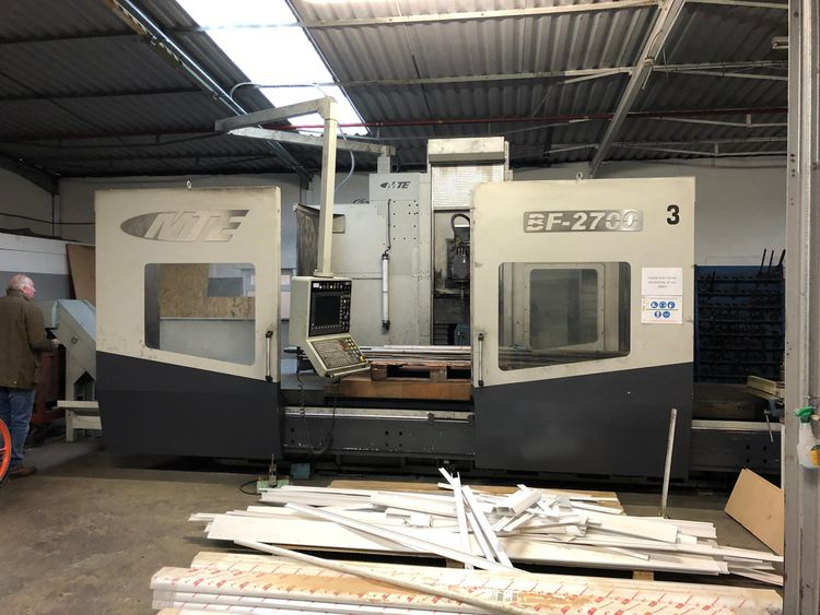 MTE BF-2700 CNC Bed Mill  Variable