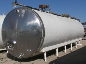 Others 10,000 Gallon Horizontal Refrigerated Jacketed Tank Horizontal Refrigerated Tank 10,000 Gallon
