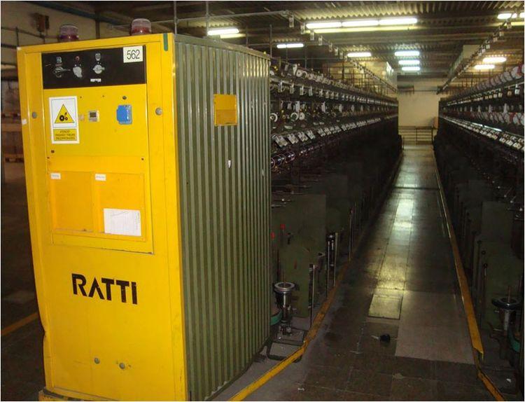 12 Ratti R522 Twisting Machines