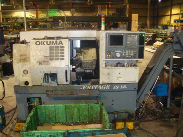 Okuma OSP-U10L Max. 4200 rpm HERITAGE ES-L8II 2 Axis CNC Turning Lathe