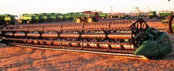 John Deere 635F Combine Platforms