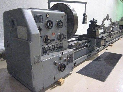 Pontiggia Engine Lathe 400 rpm H700