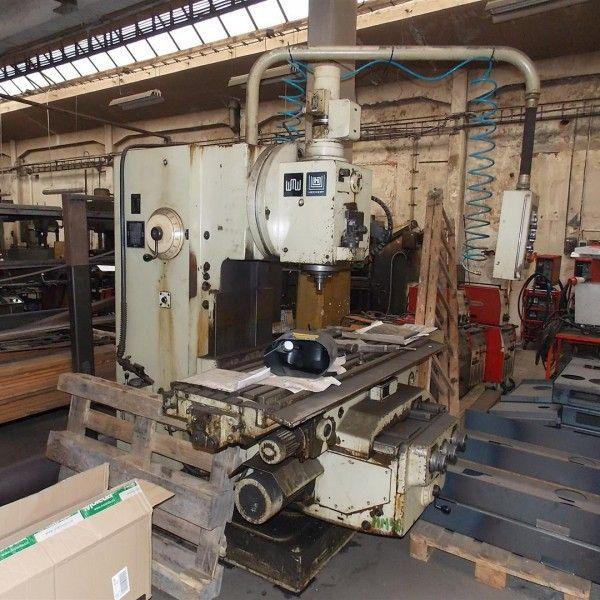 WMW FSS 400 E Vertical Milling Machine Variable