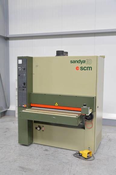 SCM Sandya 10, Wide belt sander