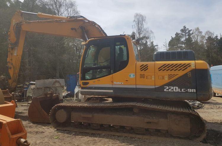 Hyundai Robex 220LC-9A Tracked excavator
