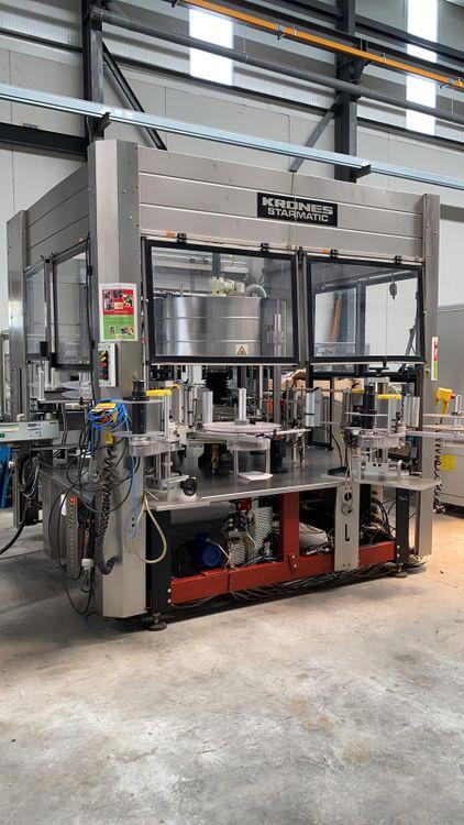 Krones Starmatic Labeller Machine