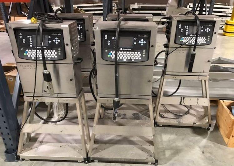 10 Domino A200 case printer