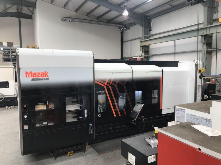 Mazak SmoothX CNC control 2500 rpm INTEGREX i-500 x 3000 5  Axis