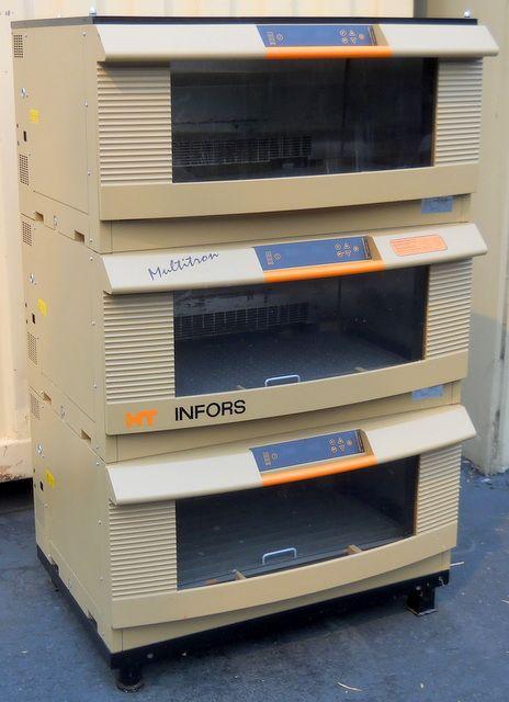 Incubator Shaker Triple Stack