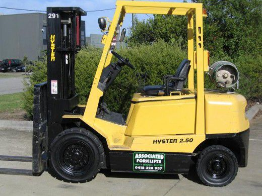 Hyster H2.5DX 2.5t LPG with CONTAINER MAST H2.5DX