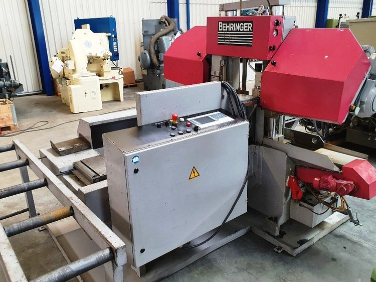 Behringer HBP 303 A Band Saw  Horizontal Semi Automatic