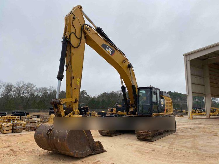 Caterpillar 349E Tracked Excavator