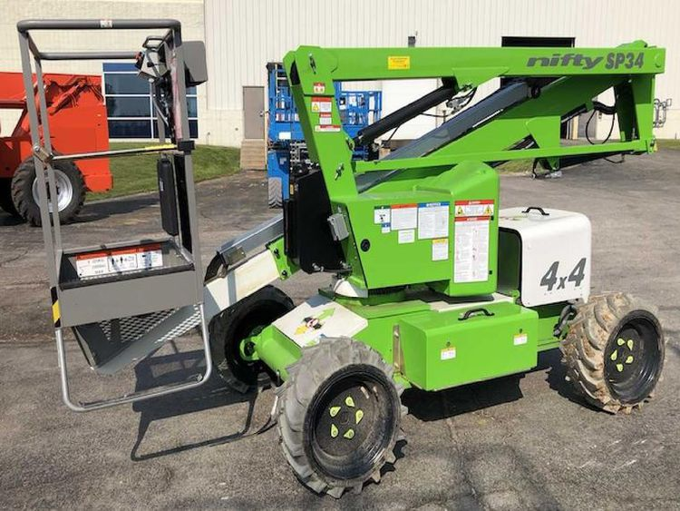 Niftylift Articulating Boom Lift  Articulating Boom Lift