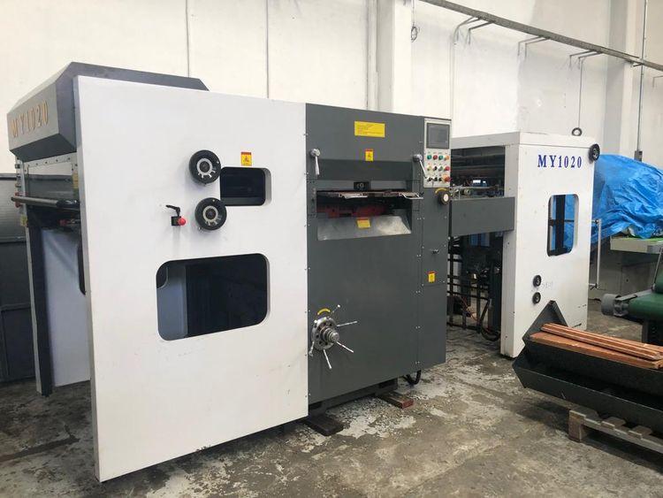 Bobst 102 CMS, Cutting machine