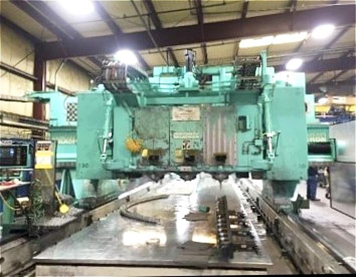 Cincinnati 5-Axis 3-Spindle CNC Gantry Mill 4 Axis