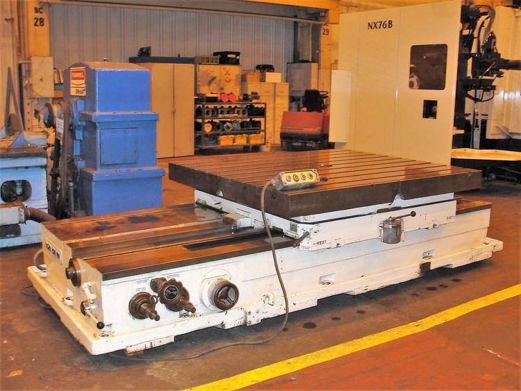 DAV1600 Power Cross Sliding Rotary Table