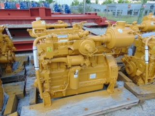Caterpillar G3306B NA 145 hp Natural Gas Compression Engine