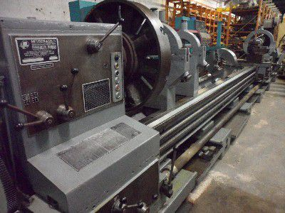 "Meuser Engine Lathe 710 rpm 40"" Swing X 280"" CC"