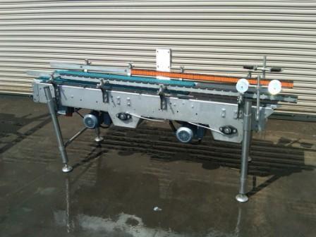 Sentry Case Meterng Conveyor 14 x 80