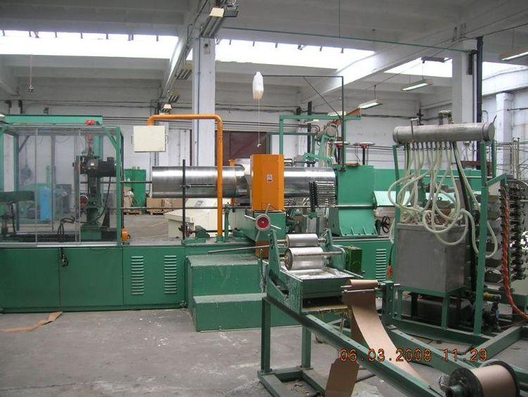 Career Line for winding paper tubes 75-406mm