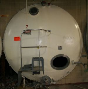 Portersville Horizontal Insulated Storage Tank 3,000 Gallon