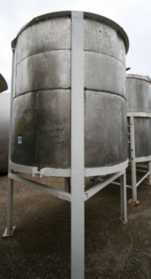 Others Single Shell Stainless Steel Tank 1,800 Gallon