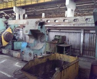 Pressmash PA6738 Hydraulic wheel mounting press 6300 kN