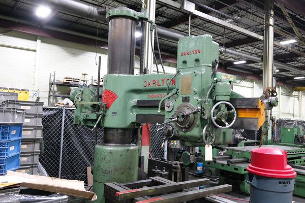 """Carlton 3A 5' x 15"""" Radial Arm Drill 1500 RPM"""