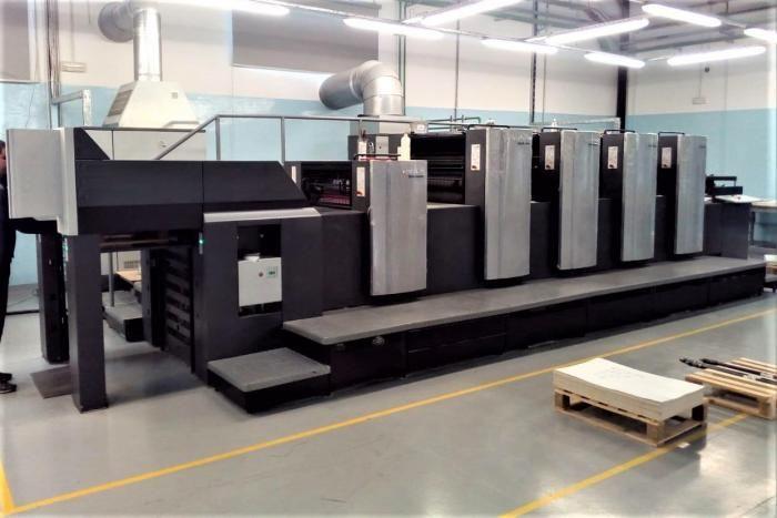 Heidelberg Speedmaster SX 74-4+L 530mm x 740mm