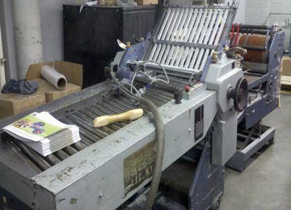 Stahl TFU 78 /4442 RF, Folder Machine