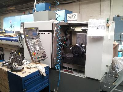 DMG CNC Control Variable MSL 42-7 2 Axis CNC Turning Lathe