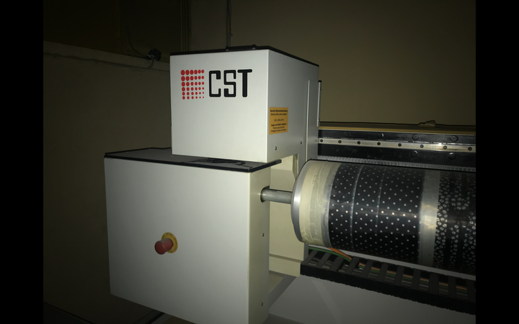 Cst Engraving machine 320cm ink system