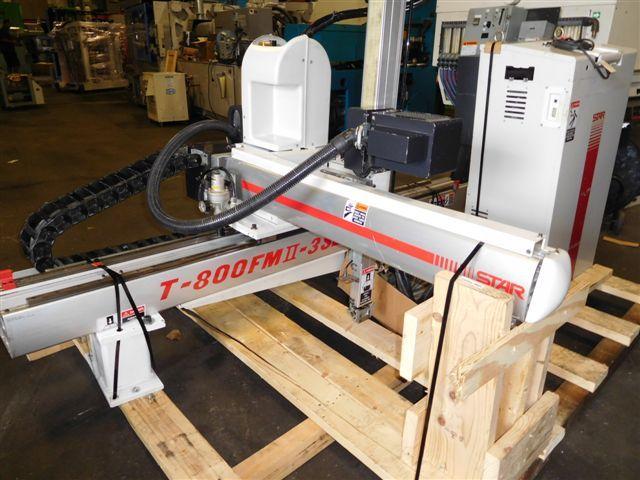 Star Automation T-800-FMII-3SL Full Servo Robot 80-300 ton