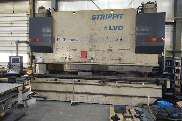 LVD CNC Hydraulic press brake Max.  350 Ton