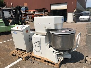 Diosna W 120 A Wendel Mixer with 2 Bowls