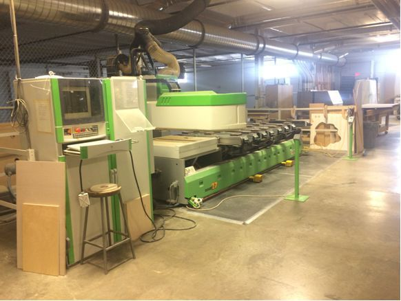 Biesse Rover 27 pod and rail CNC 4