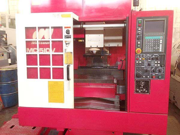 Matsuura MC-510VG HIGH SPEED CNC VERTICAL MACHINING CENTER 3 Axis