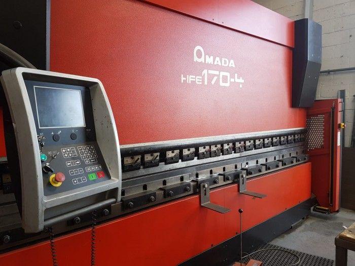 Amada 7 AXIS CNC 170 TONS X 4000 170 Ton