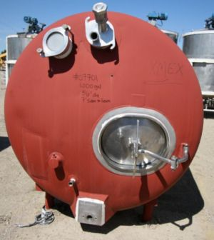Domrow Insulated Stainless Steel Tank 1,000 Gallon