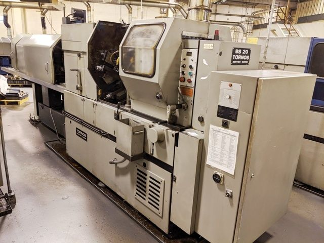 Tornos AUTOMATIC SCREW MACHINES, MULTIPLE SPINDLE 6000 rpm BS20