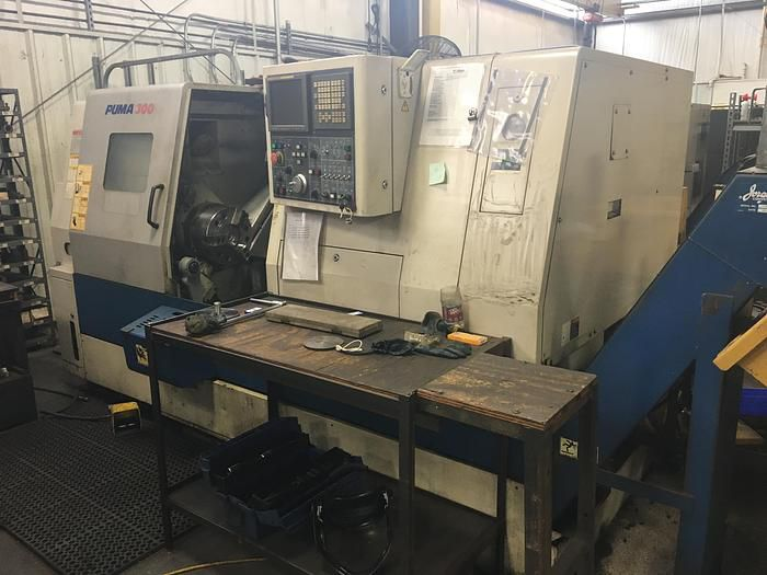 """Daewoo CNC Controller 2800 rpm Puma 300C with 4"""" Hole 2 Axis"""