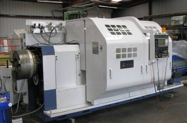 Sunfirm FANUC OiTC CNC CONTROL Max. 680 rpm CST-4260-12A 2 Axis