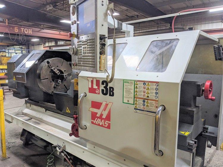 Haas CNC Control 650 RPM TL-3B 2 Axis