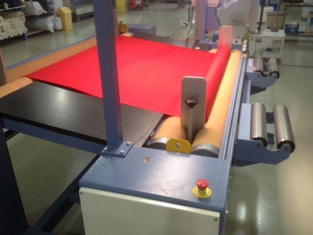 Comatex Fabric Inspection Machine