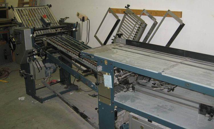 Brehmer MULTI EFFEKT 5056 / 3, Folding machine