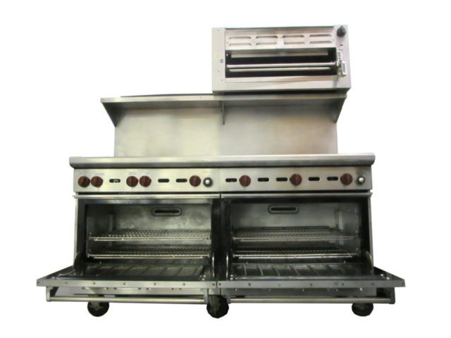 Wolf CHSSR-4-229-FT45C Burners , Griddle ,Ovens , Salamander