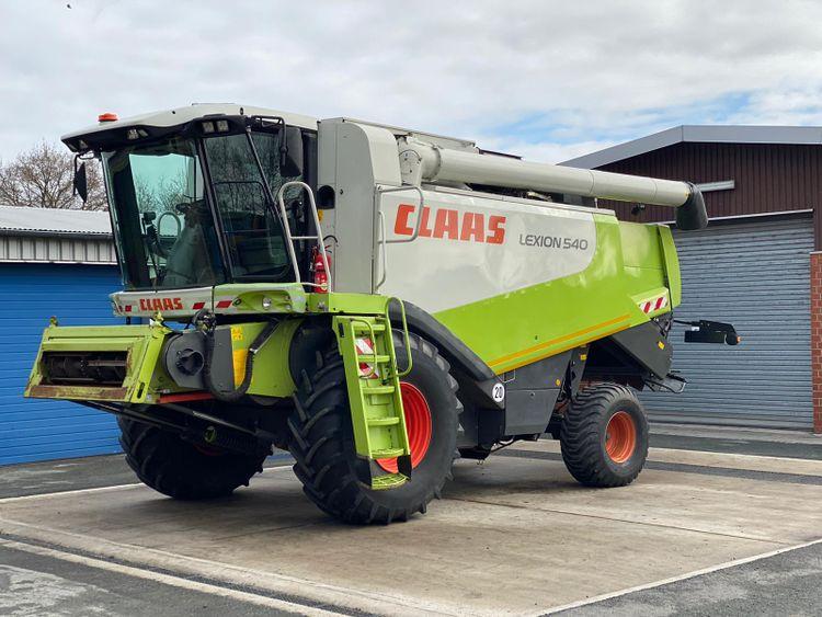 Claas Lexion 540 Combine Harvesters