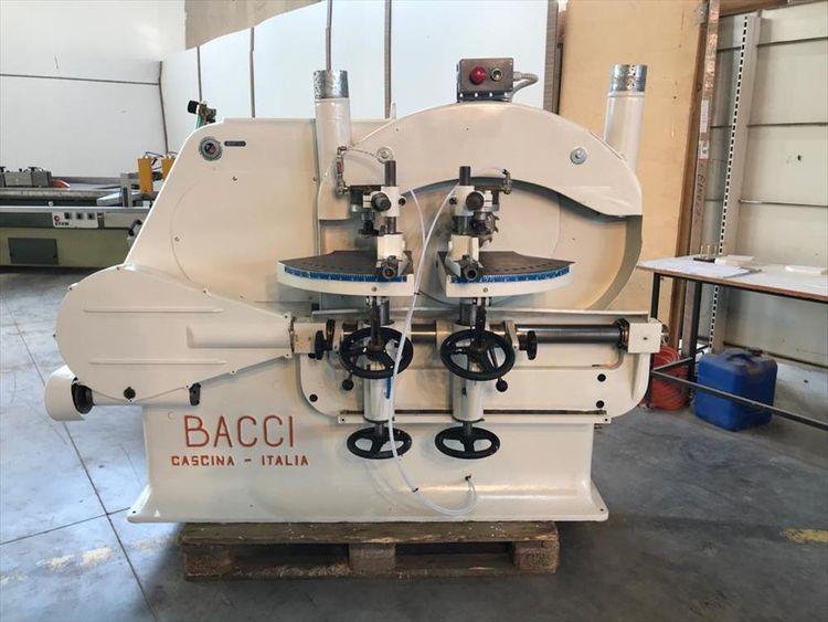 Bacci TSD Double rounding tenoning machine