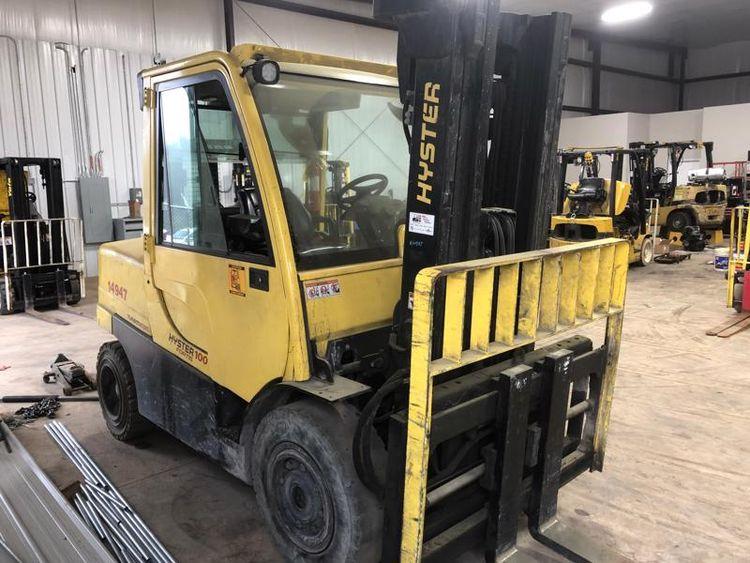 Hyster Forklifts H100FT-D 5 ton 10,000lb